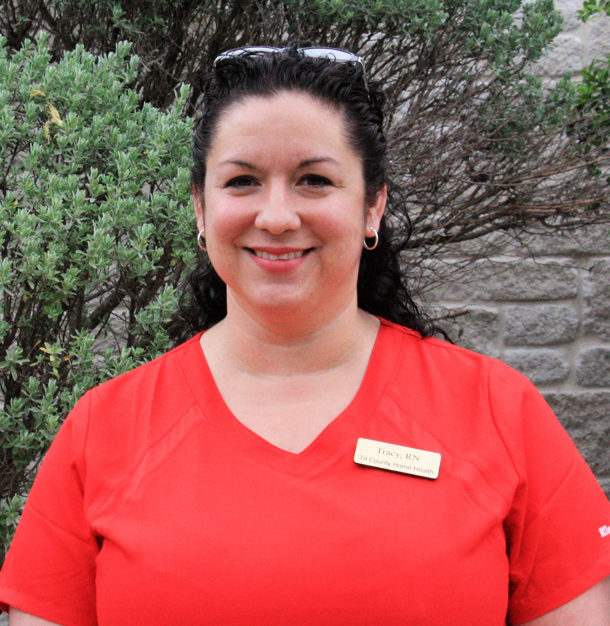 Tracy Thias, ADN, RN<br>Field Nurse